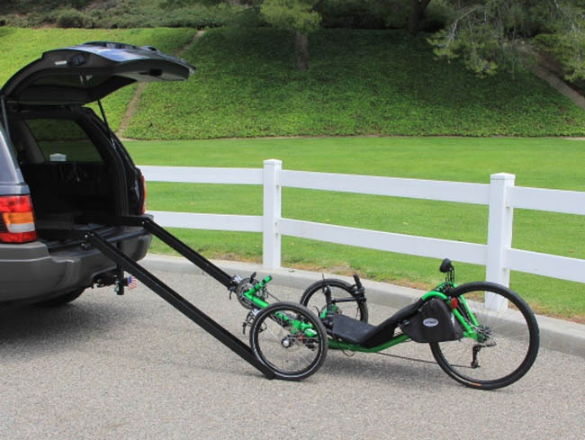 Easy Load Ramp System For Handcycles Amp Recumbent Trikes