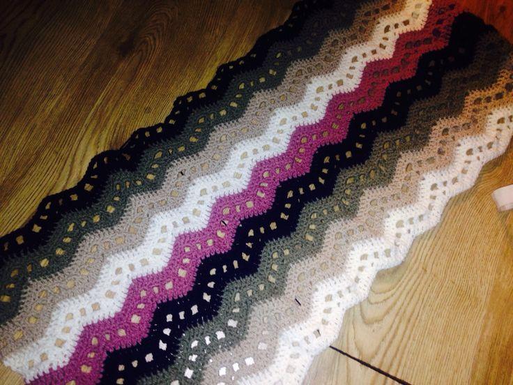 Ripple blanket wip