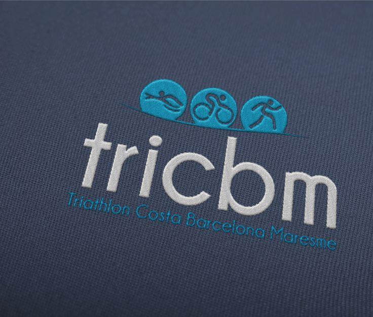 Logotipo Realizado para el Equipo de Triahlon de Calella en Barcelona  Ver Proyecto: http://vinti7.com/logotipos-barcelona-triahlon-costa-barcelona-maresme-calella/