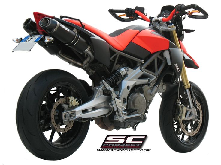APRILIA DORSODURO 750 EXHAUST BY SC-PROJECT