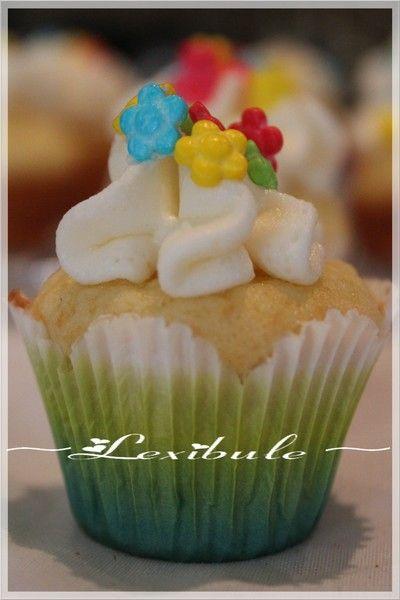 Cupcakes dorés de Pâques~