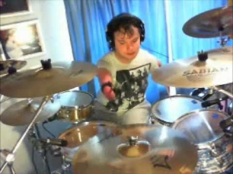 Cornel Hrisca-Munn a disabled drummer showcases his talents and ability to overcome obstacles in life to follow one of his passions.  #inspiration #neverstopdreaming
