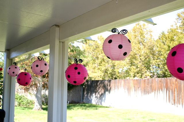 """Photo 2 of 17: Pink & Red Ladybugs / Birthday """"Little Lady Pink Ladybug Party"""" 