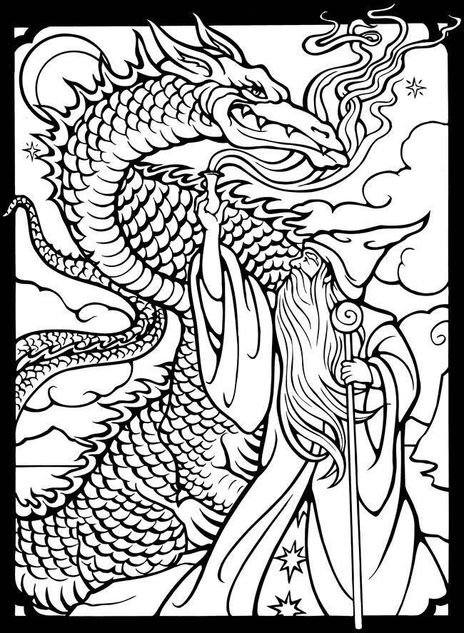 Beautiful Dragon Age Coloring Book Coloring Pagesdragon Coloring