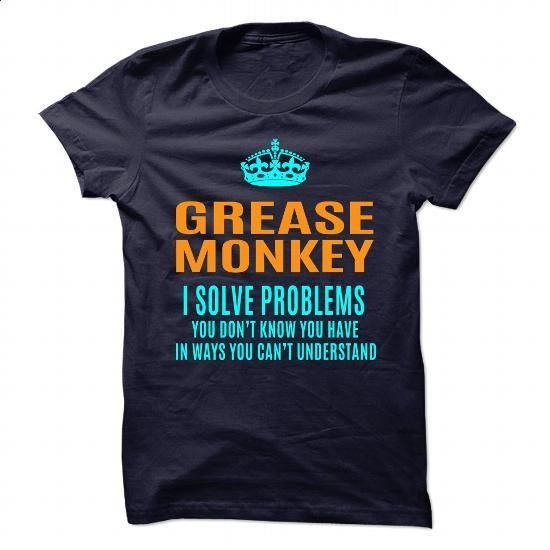 GREASE-MONKEY - #long sleeve t shirts #kids t shirts. I WANT THIS => https://www.sunfrog.com/No-Category/GREASE-MONKEY-89910875-Guys.html?60505