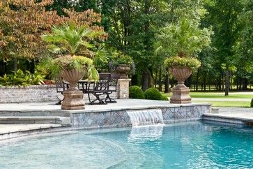 A Complete Renovation Traditional Pool Nashville