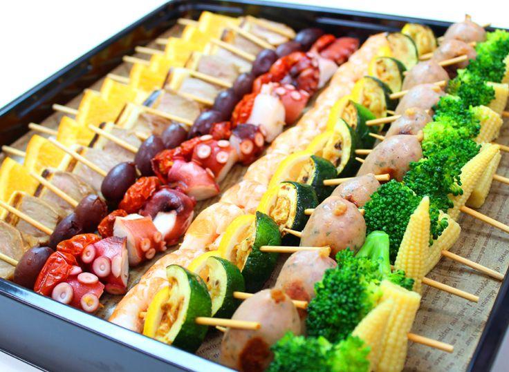 4種のピンチョス | Ricca Catering & Deli