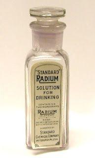 Productos radioactivos de los años 20-30