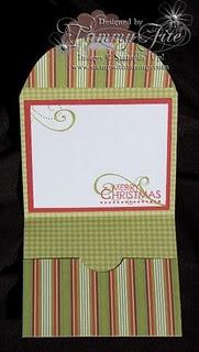 Gift card holder 3.