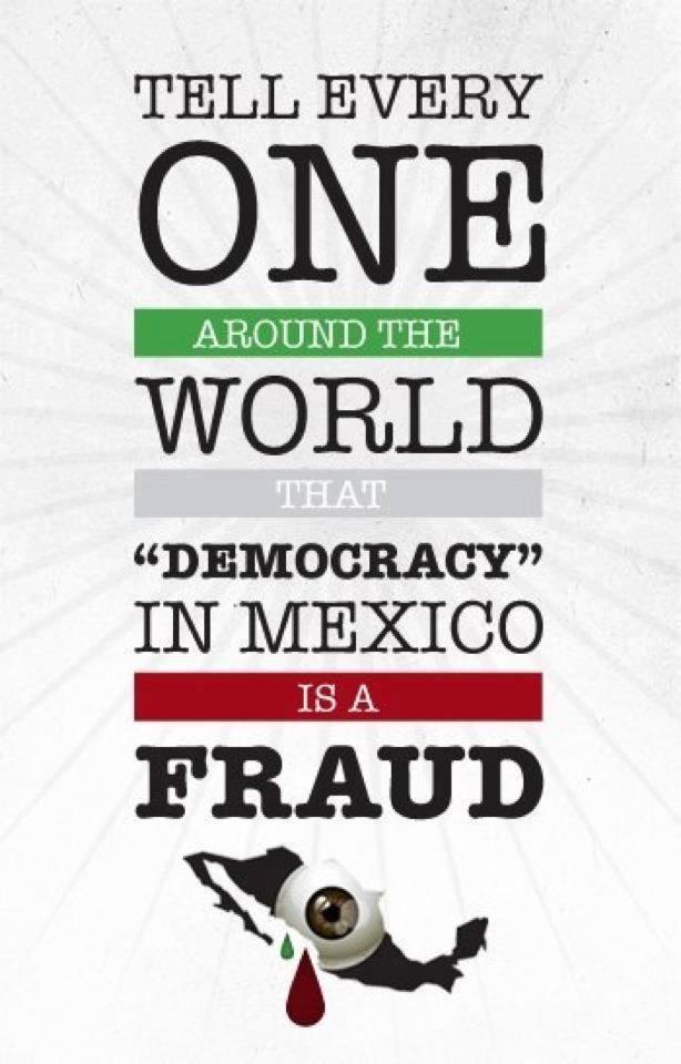 La democracia en México es un Fraude!