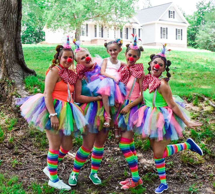 DIY Clown Outfit #PartyPlanning