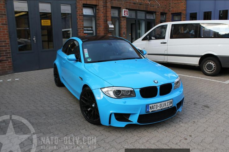bmw 1er m coupe babyblue bmw. Black Bedroom Furniture Sets. Home Design Ideas