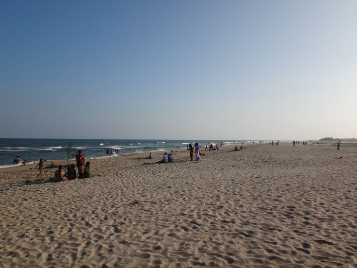 Public Beach in South India