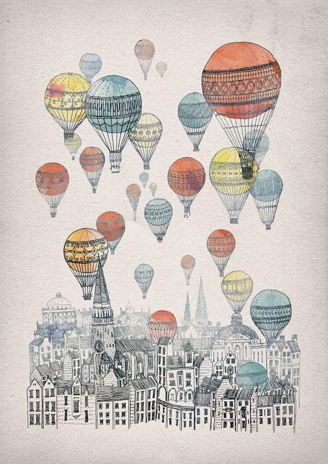 воздушный шар рисунок: 20 тыс изображений найдено в Яндекс.Картинках