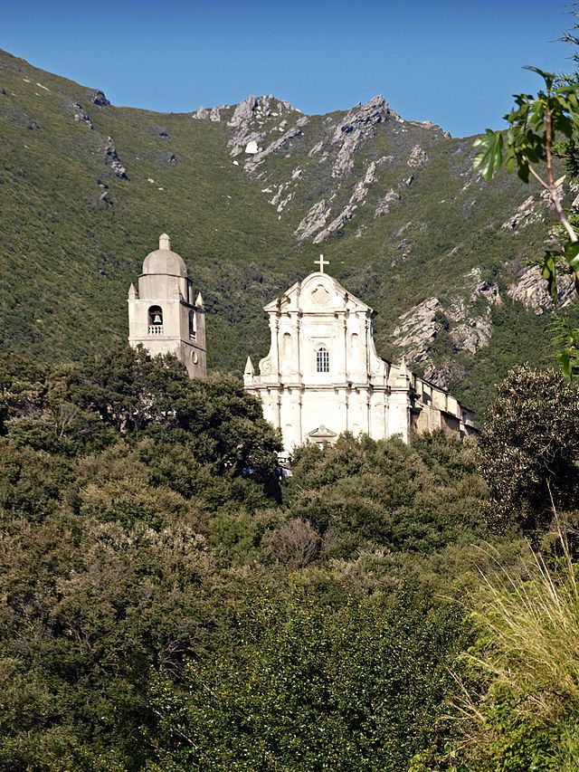 Region du Capicorsu - Morsiglia église San Cipriano