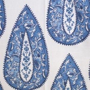 Bindi Cobalt - Futon Cover - Classic & Traditional - Futon Covers