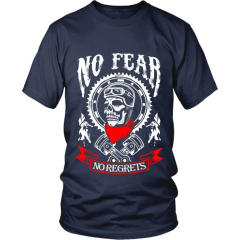 Motorcycle - 'No Fear' Unisex Shirt