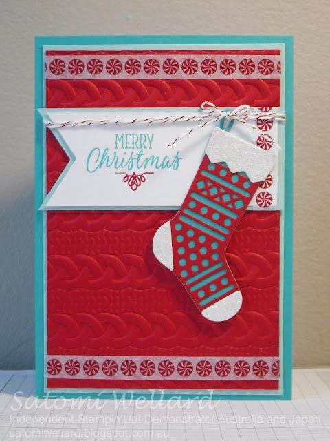 Satomi Wellard-Independent Stampin'Up!Hang your stocking, #caseingamykoenders,