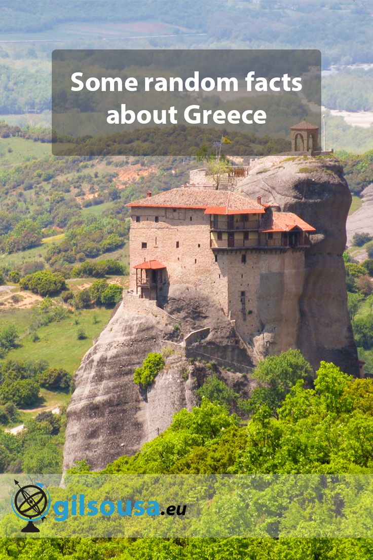 Some random facts about Greece