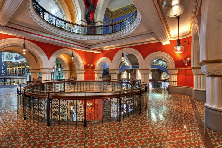 Fresh look on the QVB (Queen Victoria Building - Sydney)