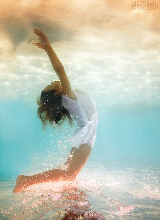 When your emotions are allowed to take their proper place in your whole life, all healing is possible, because all energy is available. ♥    ~Karla McLaren  ./ ~*~*~*~*~*~*~*~*~*~*~*~*~*~*~*~*~*~*~*~*~*~*~Underwater by Elena Kalis