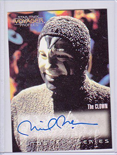 Star Trek Voyager Autograph - Michael McKean as The Clown @ niftywarehouse.com #NiftyWarehouse #StarTrek #Trekkie #Geek #Nerd #Products