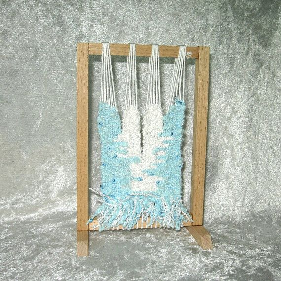 Hey, I found this really awesome Etsy listing at https://www.etsy.com/listing/118155072/high-warp-loom-with-modern-tapestry