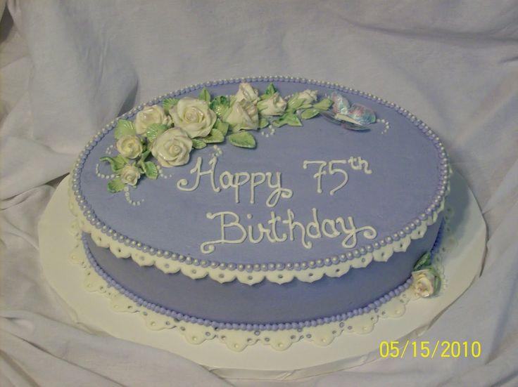 Cakes By Chris: 75th Birthday Cake