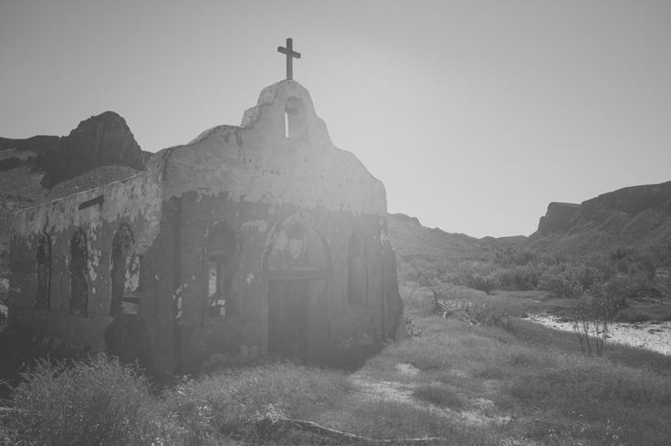 Contrabando movie set, Big Bend, Texas