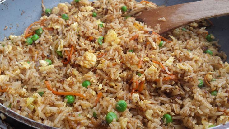 Smažená rýže s vejci