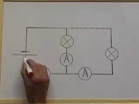Electricity 3 Kirchoff's First Law on current flow