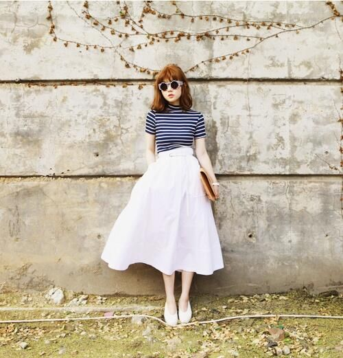 2015年春夏トレンド♡白アイテムを取り入れた大人かわいいコーデ♪ | ギャザリー