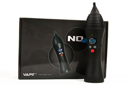 The Vapir NO2 Vaporizer features several new components that you are sure to find useful. One of those features is an Internal Lithium-Ion Re-Chargeable Battery that allows for fully cordless usage on-the-go.  As well as the ability to charge the battery internally while the NO2 is in usage; or Externally with the optional wall charger.  Another key feature is the Temperature Memory Re-Call. It Remembers the last temperature you used and allows you to instantly re-call that setting.