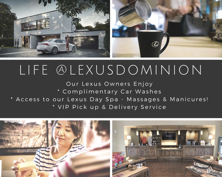 Life at Lexus Dominion.  Lexus Owner Perks and more available at our San Antonio Lexus dealership.