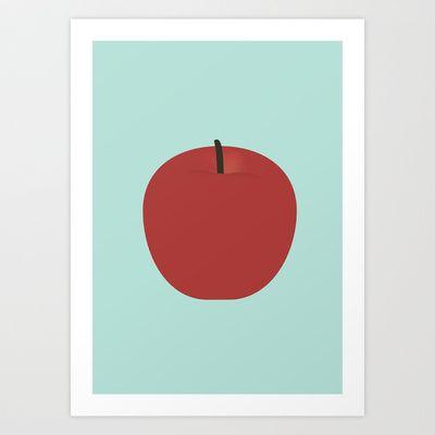 Apple 21 Art Print by Rhett