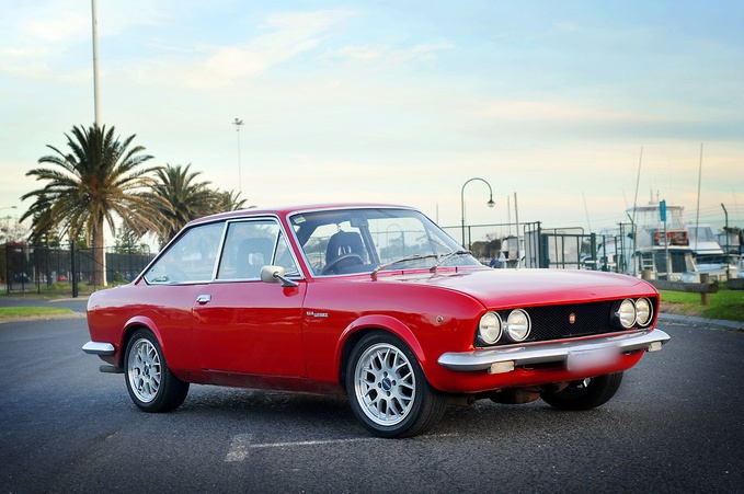 1973 Fiat 124 Sport Coupe BC (mine was electric blue)