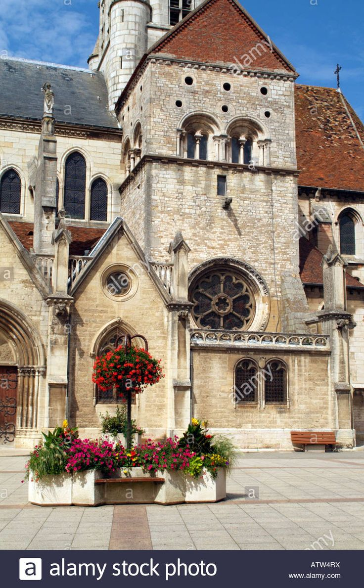 16th century Church of Notre Dame in Auxonne Cote d Or France