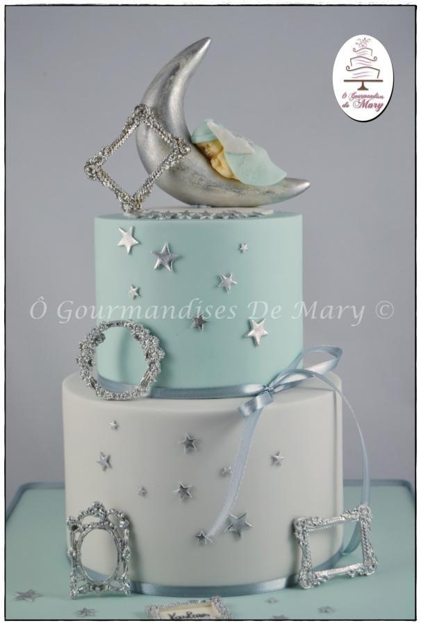 Lune et argent - Cake by Ô gourmandises de Mary