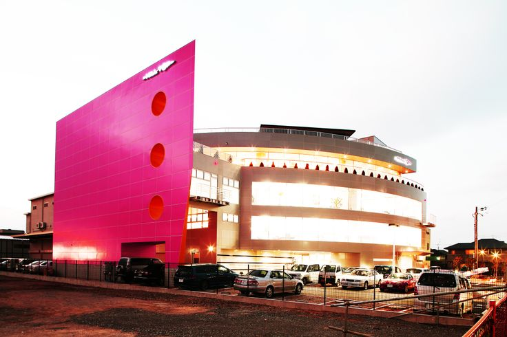HILLTOP Dream Factory!! #pink #building HILLTOP夢工場です!!京都本社