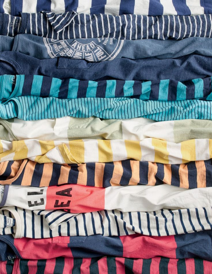 J.Crew men's striped shirts. These old-school patterns are inspired by our men's design team's boyhood favorites.