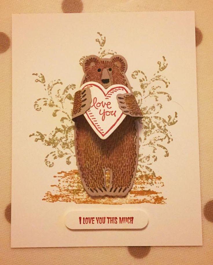 Bear hugs stampin up