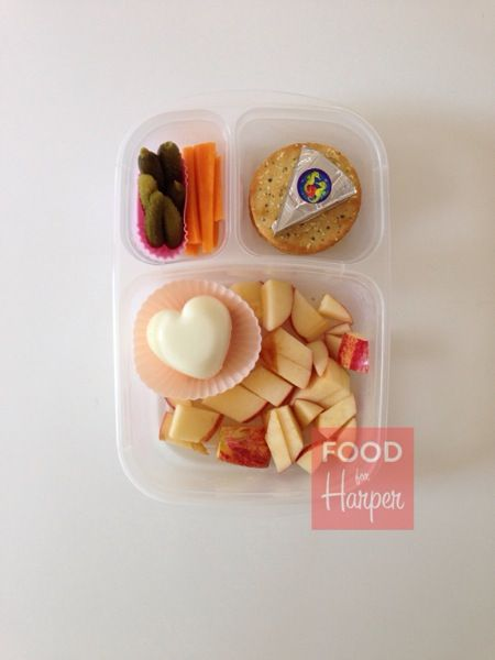 Quick and easy toddler lunch box idea | packed in @EasyLunchboxes