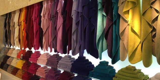 Махровые полотенца. Почему в Европе отдают предпочтение ярким полотенцам. - Блог ELSON