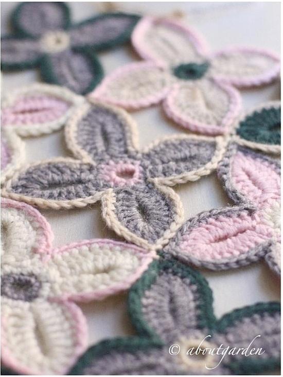 crochet Flower whit tutorial