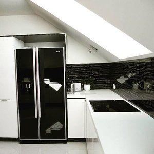 Nadčasová #klasika - #černobílá kuchyň je prostě TOP #❤ #blackandwhite #kitchen #kuchyn #kuchyne #bila a #cerna #top  #exclusive #opava #iqkuchyne #proradost #pohoda #relax #design #homedecor #czechmade #beautiful #goodmorning #inspiration #inspirace #budetejimilovat