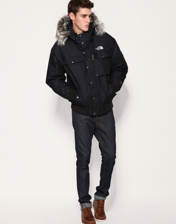North face men's gotham jacket black