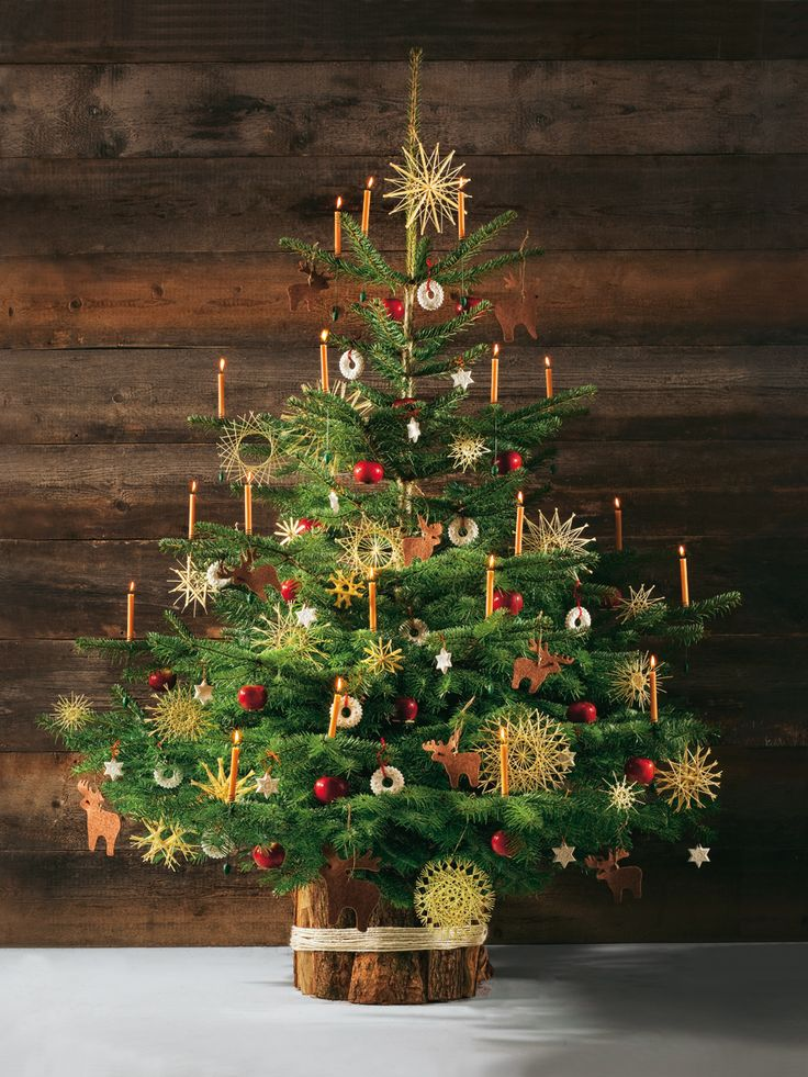 Christmas tree decoration ideas from Germany. German