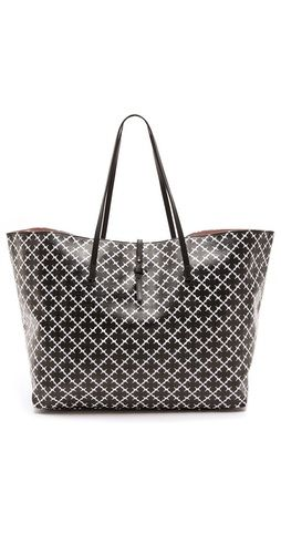 Perfect 'carry all' bag by Malene Birger. This 'Agrippa Tote' features a gorgeous black and white print and is spacious enough to fit all your daily work necessities! Shop here with free shipping http://rstyle.me/~IpFE