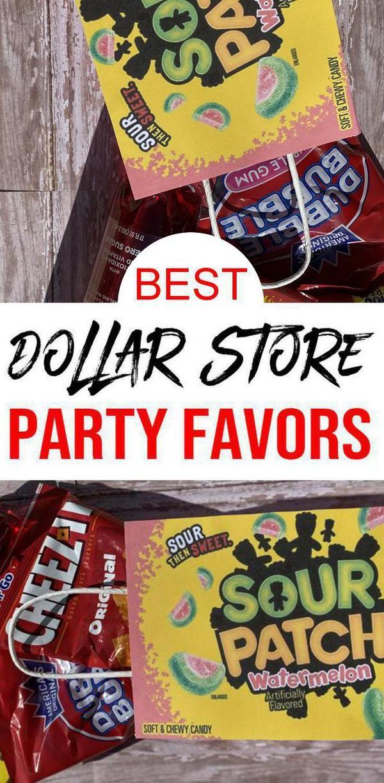 Dollar Store Party Favors Best Kids Teens Tweens Diy Party