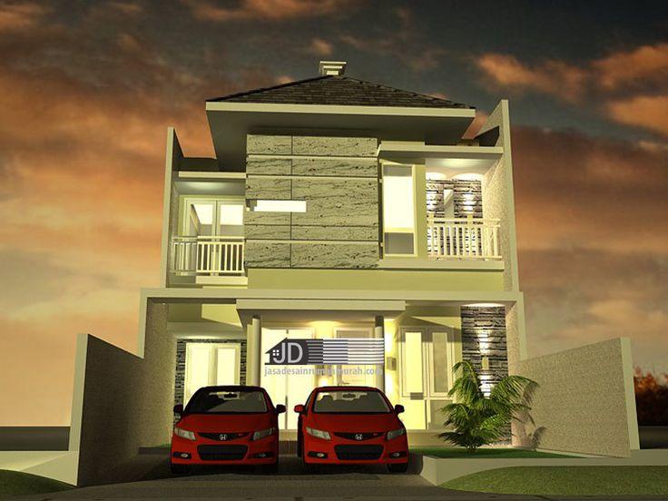 Desain Rumah Modern Tropis Bapak Abu Hanif, di Jambi